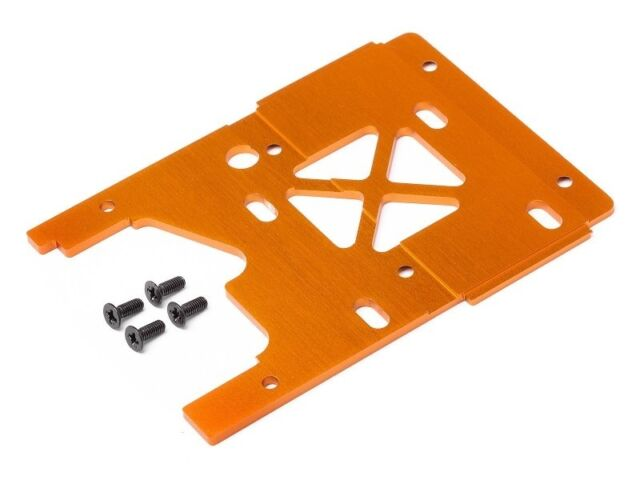 HPI Motorplatte 2.5mm orange Savage X - H105896