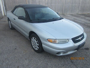 JUST IN! 2000 CHRYSLER SEBRING CONVERTIBLE @ PICNSAVE!