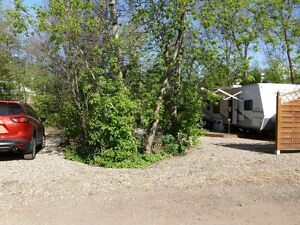 Katepwa RV Campsite and Trailer for Sale, Section C, Site C42