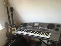 Piano ,electric and bass guitar for sale price reduce