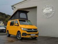Brand New VW T6.1 SWB *High Spec* Campervan Base Tailgate in Chrome Yellow