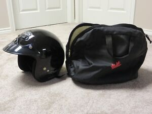 HJC SNOWMOBILE HELMET AND CARRYING CASE