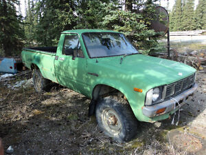 Toyota 4 Runner, P/U parts or Complete Trucks