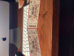2 Jason Aldean tickets May 14th $200 for pair!