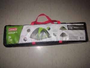 $40 Coleman Highline II dome tent for 3 or 4 person