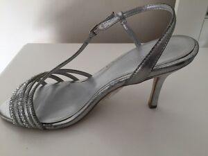 Silver sparkly  heels- size 7- NEW in box  Peterborough Peterborough Area image 2