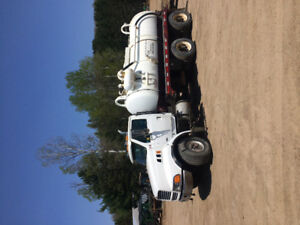 1998 Ford Septic Truck