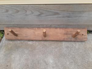 Two Wooden coat hangers. Reservoir Darebin Area Preview