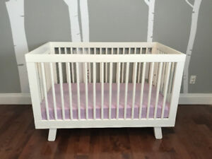 BABYLETTO HUDSON 3-IN-1 CONVERTIBLE CRIB *MODERN*