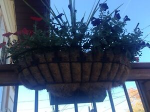 Hanging deck planters $10 each