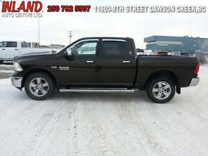 2013 Ram 1500 SLT  Auto,Crew Cab Rear Camera,Short Box,Running B