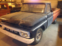 1966 GMC 910 and 1964 Chevy C10