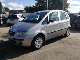 2006 06 FIAT IDEA ACTIVE 1.2 MULTIJET DIESEL LONG 5DR 70 BHP DIESEL