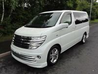 2004 Nissan Elgrand 3500 RIDER LEATHER S/ROOFS FRESH IMPORT 5dr