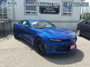 2016 Chevrolet Camaro LT  - Certified -  Bluetooth -  Cruise Con