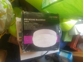 Ip65 round bulkhead light