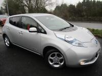 2012 NISSAN LEAF EV AUTO ELECTRIC HATCHBACK ELECTRICITY