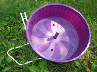 *REDUCED* Purple Rodent Wheel