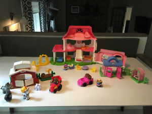 Lot de jouets «Little People Fisher Price» toy lot
