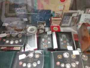 Proof coin sets, bills, stamps sportscards plus 600 booths  Cambridge Kitchener Area image 4
