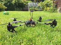 Quadcopter built on FY450 frame powerfull