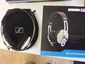 Sennheiser momentum on ear headphones - Ivory