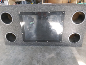 "2-12"" infinity subs and JBL amp"