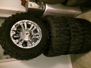 Nitto Mud Grapplers on XD Monsters