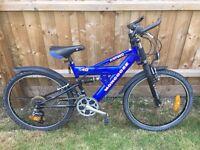 Boys 21 speed Mongoose Mountain Bike