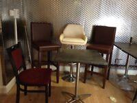 Bar stools .
