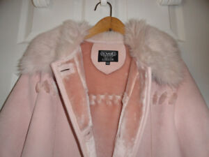Women's Winter Coat - Pink Color - Size Medium (Petite)