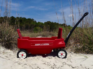 Radio Flyer Red Wagon – Two Passenger with seat belts
