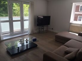 Two bedroom flat, one double bedroom and one ensuite bedroom, Avenue Raod NW8, porter service