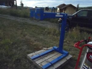 New unused 2014 4000# Pallet Forks for crane Williams Lake Cariboo Area image 2
