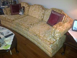Embroidered Sofa & Armchair set London Ontario image 2