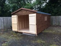 20x10 heavy duty shed