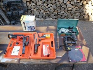 Lot d'outils divers