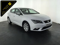 2014 64 SEAT LEON SE TECHNOLOGY TDI DIESEL 1 OWNER SERVICE HISTORY FINANCE PX
