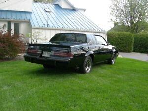Buick Grand National 1987 Original . Suis Proprio depuis 14 Ans
