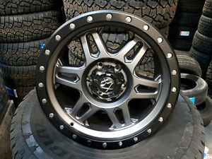 "NEW! 18"" black or grey!! - F150 1500 DODGE CHEVY FORD"