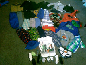 Toddler size 3T fitting clothing LOT SALE 57 ITEMS