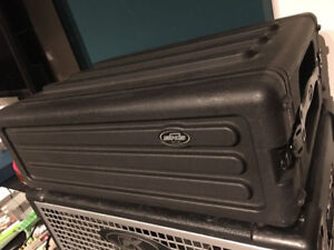 SKB Roto-Molded 3 Space Shallow Rack Case