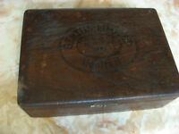 ANTIQUE GERTHS LIMITED CIGAR BOX MONTREAL 1881