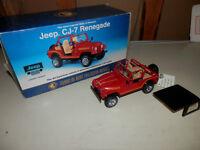 Jeep CJ-7 renedgade 1:24 diecast
