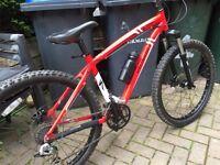 Specialised hardrock mountain bike