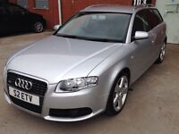 Audi A4 estate s line 2.0tdi