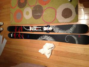 Line Mr Pollard Opus skis