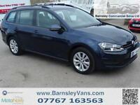 2015 15 VOLKSWAGEN GOLF 1.6TDI SE ESTATE BLUEMOTION STOP START