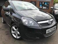 Vauxhall Zafira Exclusiv PETROL MANUAL 2012/62