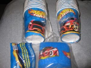 NEW Hot Wheels Birthday/Party Supplies